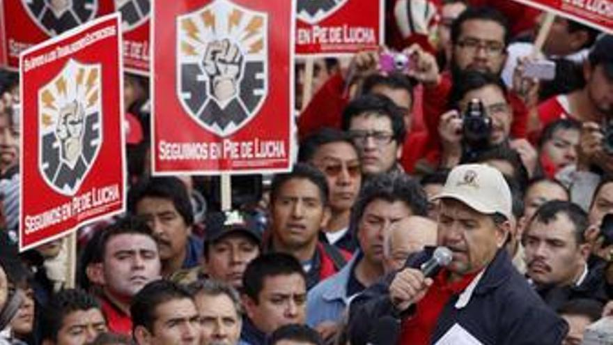 Manifestación en México por central eléctrica