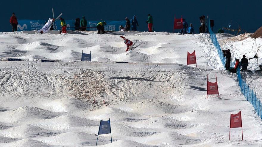 Segunda jornada en Sierra Nevada y segundo oro del japonés Ikuma Horishima