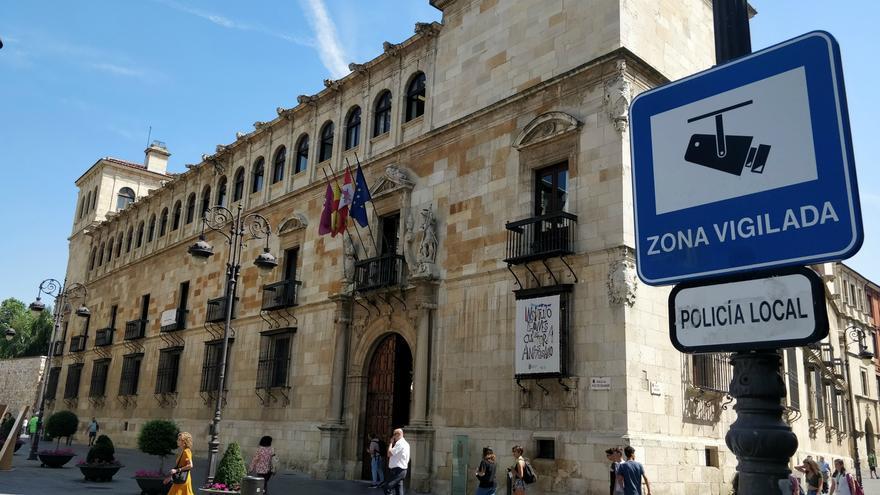 Sede de la Diputación de León, el Palacio de los Guzmanes