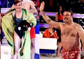 El salto de Arturo Valls en 'Splash' contra el baño de lágrimas en 'GH'