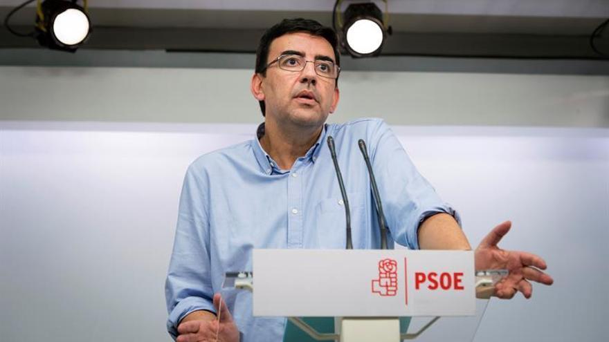 El PSOE llama a diputados y militantes a respaldar movilizaciones sindicales
