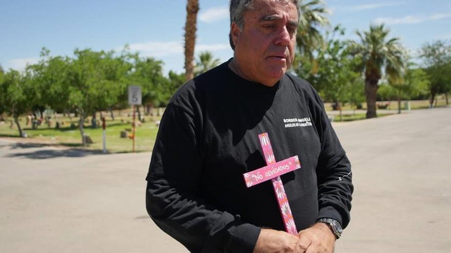 Enrique Morones, fundador y director de la ONG 'Ángeles de la frontera'.