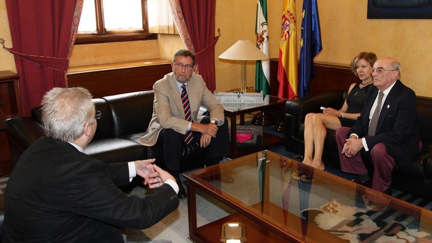 Gracia pide a los andaluces que apoyen la declaración de Itálica como Patrimonio de la Humanidad