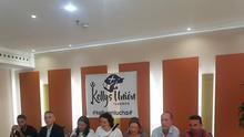 Rueda de prensa convocada por las Kellys Unión de Tenerife hace unos meses