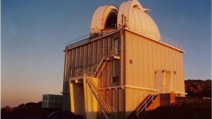 Imagen de archivo del telescopio Jacobus Kapteyn, en El Roque de Los Muchachos.