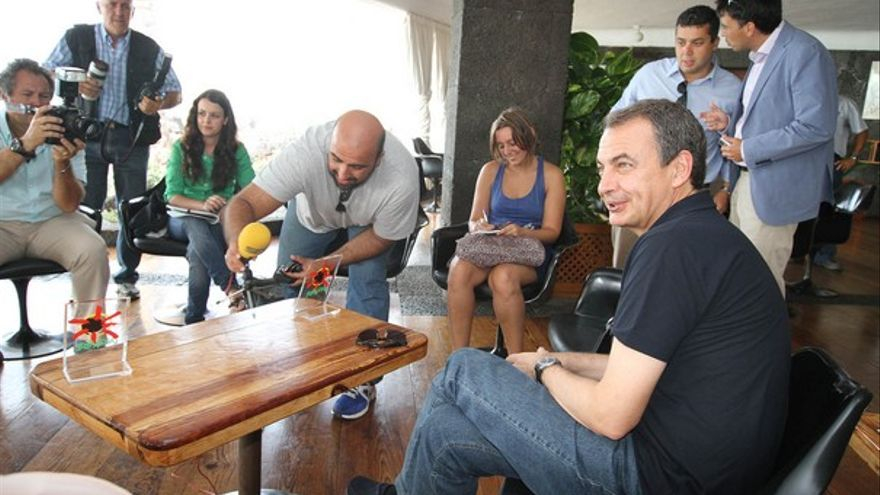 De la rueda de prensa de Zapatero #2