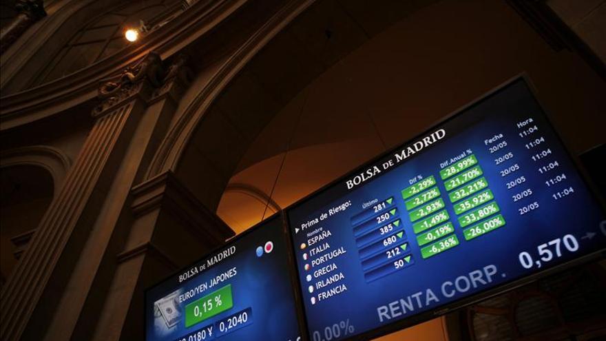 La prima de riesgo española abre sin cambios, en 283 puntos básicos
