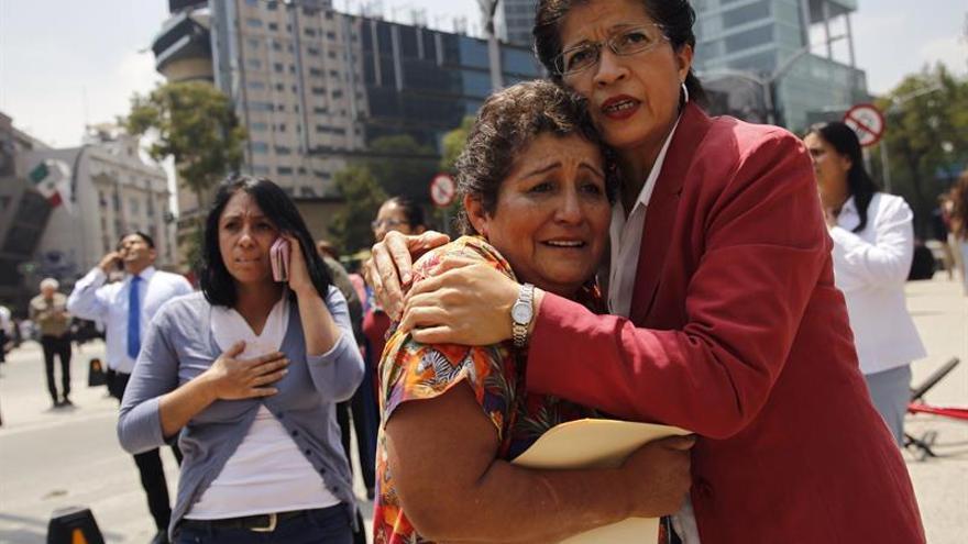 Al menos 47 muertos en el central Estado de México por el terremoto