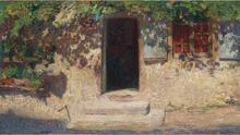 'La puerta abierta'. | Henri Martin