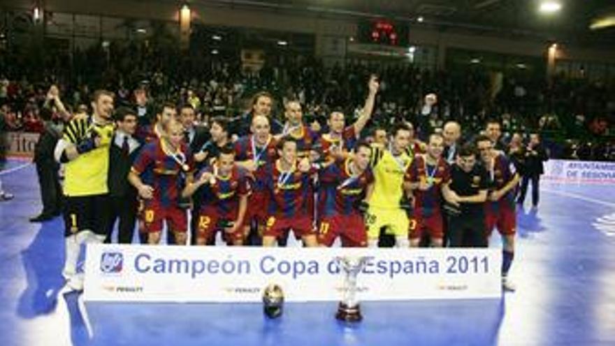 El FC Barcelona campeón de la Copa de España