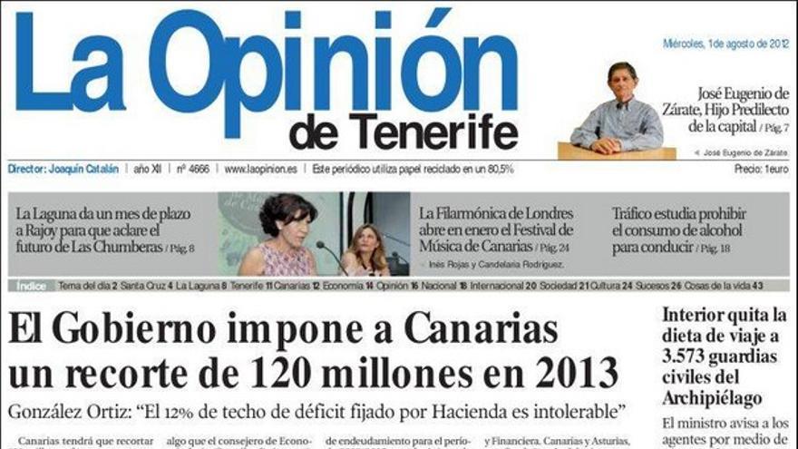 De las portadas del día (01/08/2012) #5