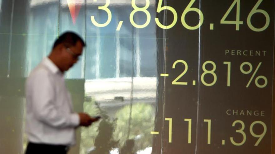Las bolsas del Sudeste Asiático comienzan con resultados mixtos