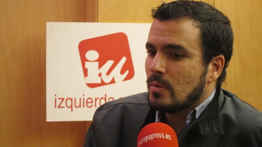 """Garzón dice que Pérez y Gordo están fuera de IU """"política y jurídicamente"""" y llama a IUCM a reconocerlo"""