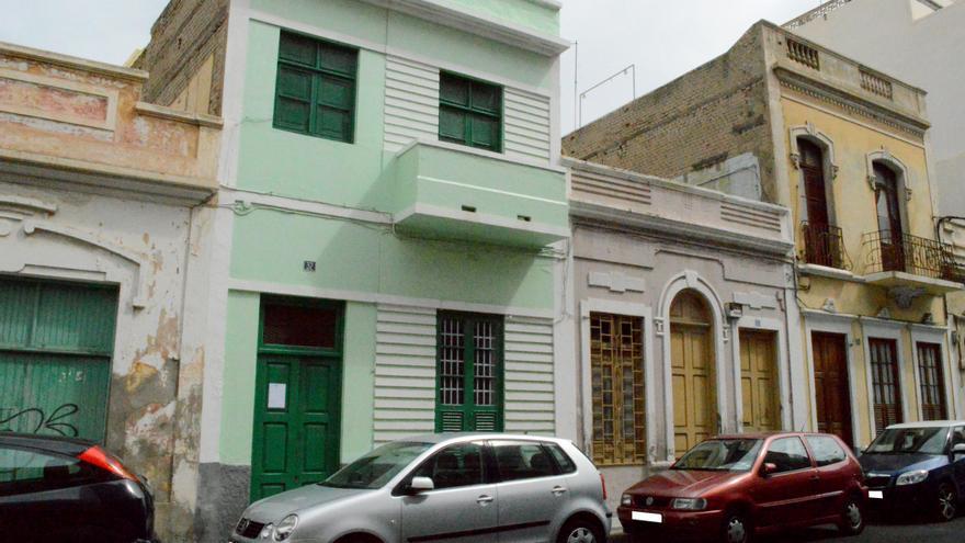 Vivienda de Jacinto y Blanca Nieves. FOTO: Iago Otero Paz.