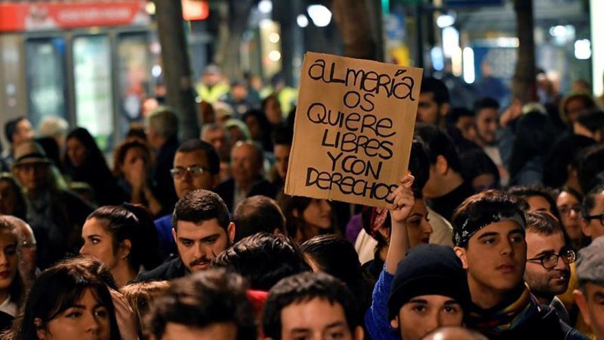Manifestaciones por segundo día contra Vox en varias ciudades andaluzas