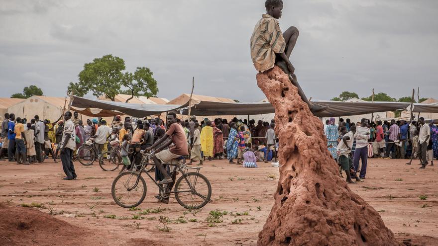 Vacunación en Yida, Sudán del Sur. Foto 1 © Yann Libessart/MSF