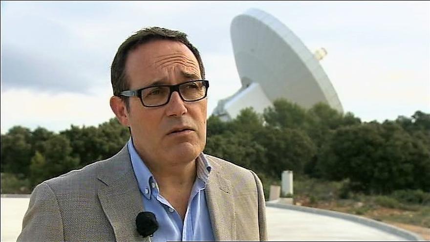 José Antonio López, ya ex director del Observatorio Astronómico de Yebes