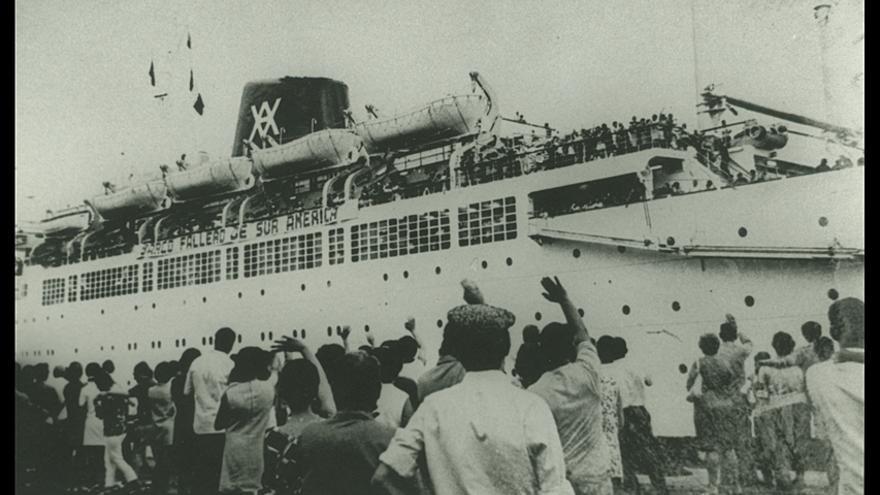 Imagen perteneciente al acervo de la 'Hospedería do Imigrante' en Brasil.