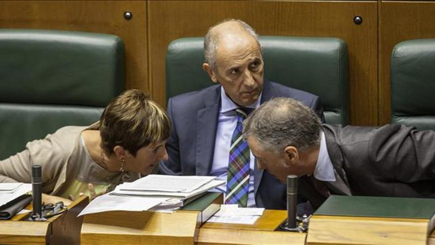 """El Gobierno Vasco se """"resistirá"""" a cualquier medida que erosione el autogobierno"""