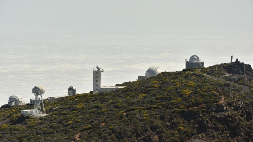 Complejo de telescopios del Roque de Los Muchachos.