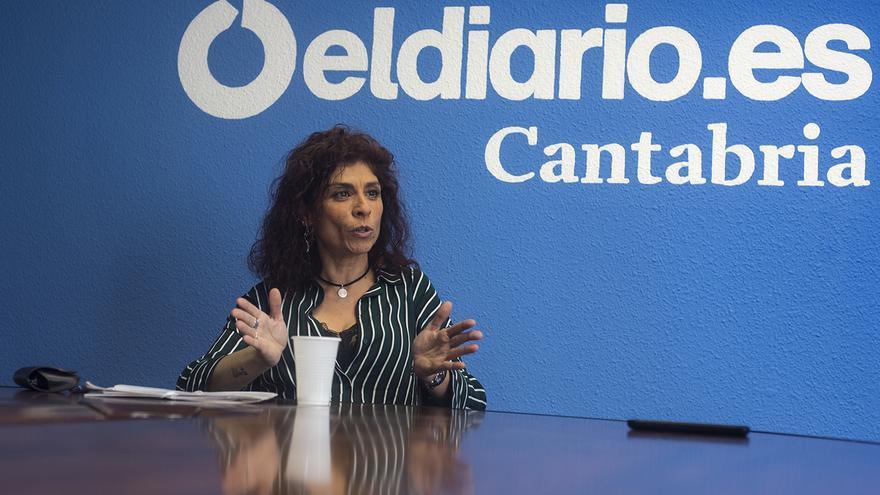La diputada nacional de Podemos por Cantabria, Rosana Alonso. | JOAQUÍN GÓMEZ SASTRE