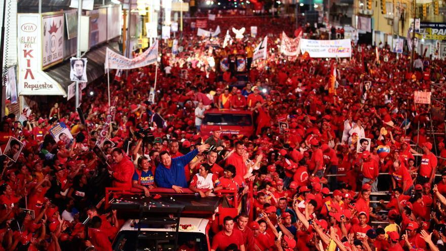 Chávez y Capriles aprietan el paso con el final de la campaña a la vista