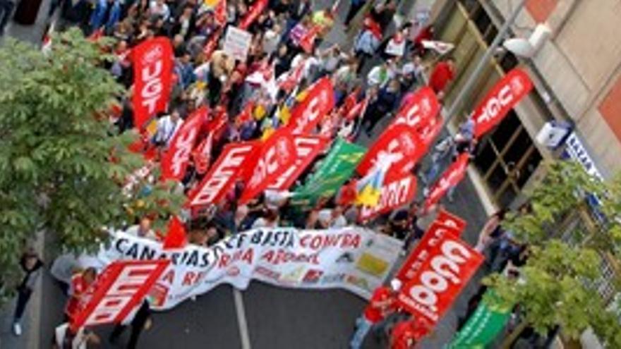 Unión sindical en las Islas para un 1º de mayo ''histórico''