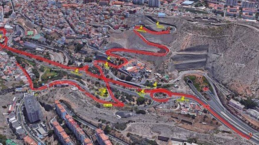 Tramos Espectáculo del Rally Islas Canarias en Las Palmas de Gran Canaria.