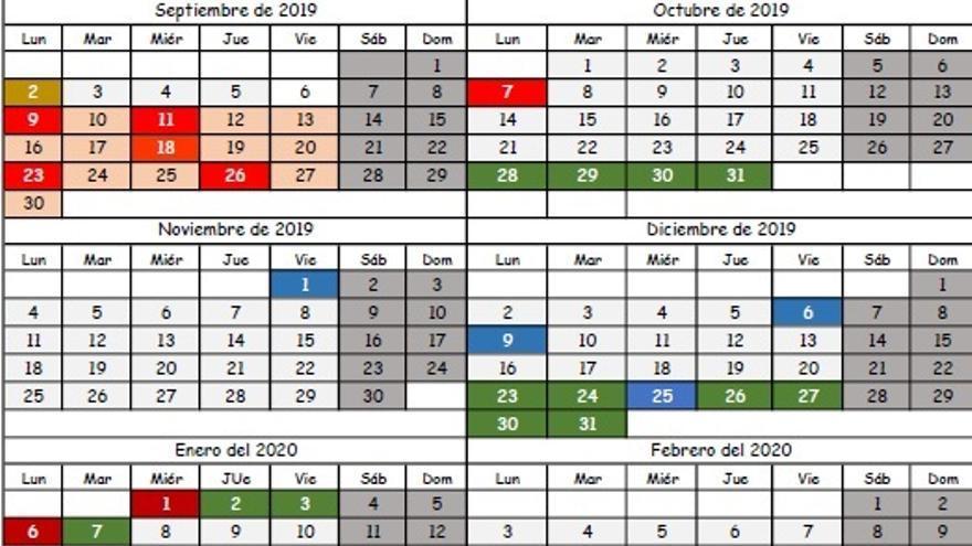 Calendario Escolar Galicia 2020 Y 2019.Publicado El Calendario Escolar Para El Curso 2019 2020 Pese Al