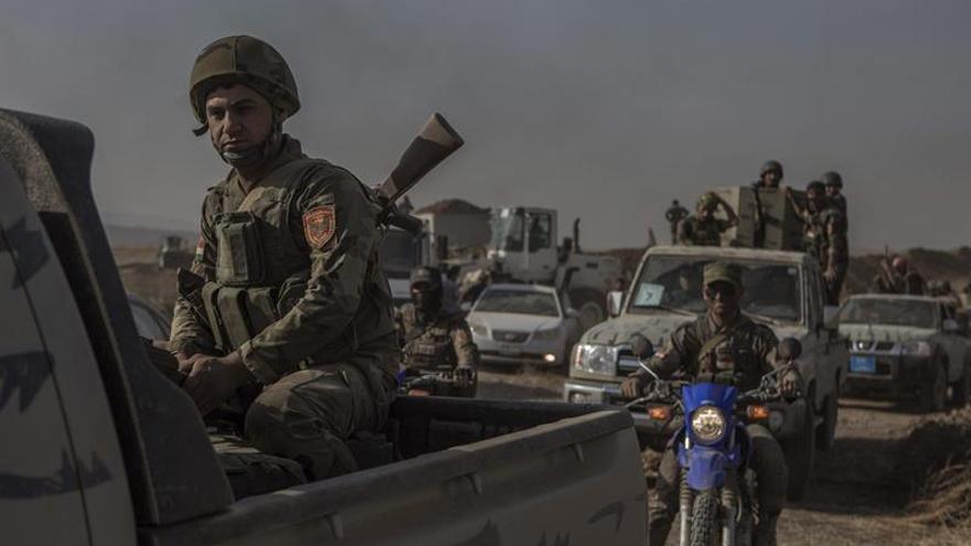 Fuerzas iraquíes liberan un barrio de Faluya e irrumpen en el último reducto del EI