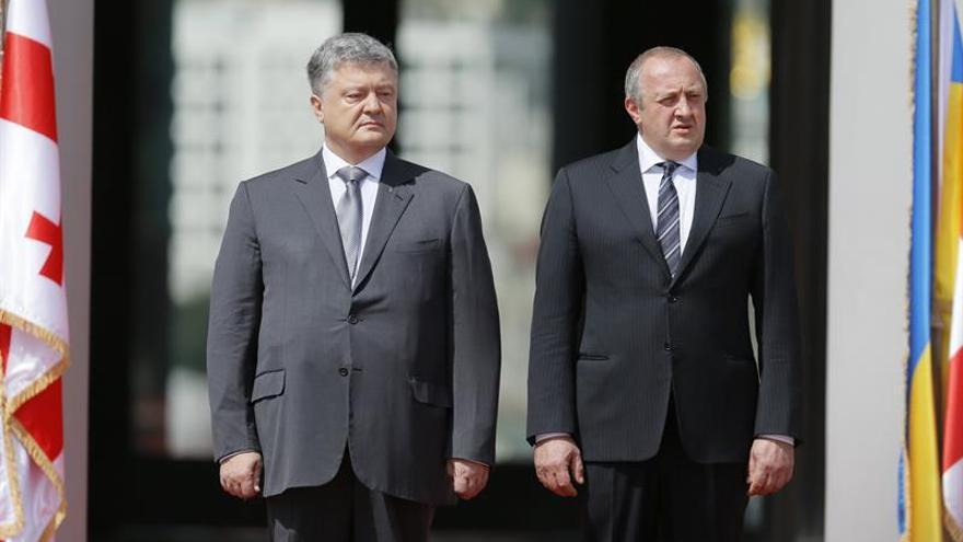 Georgia y Ucrania crean un frente común contra el expansionismo de Rusia