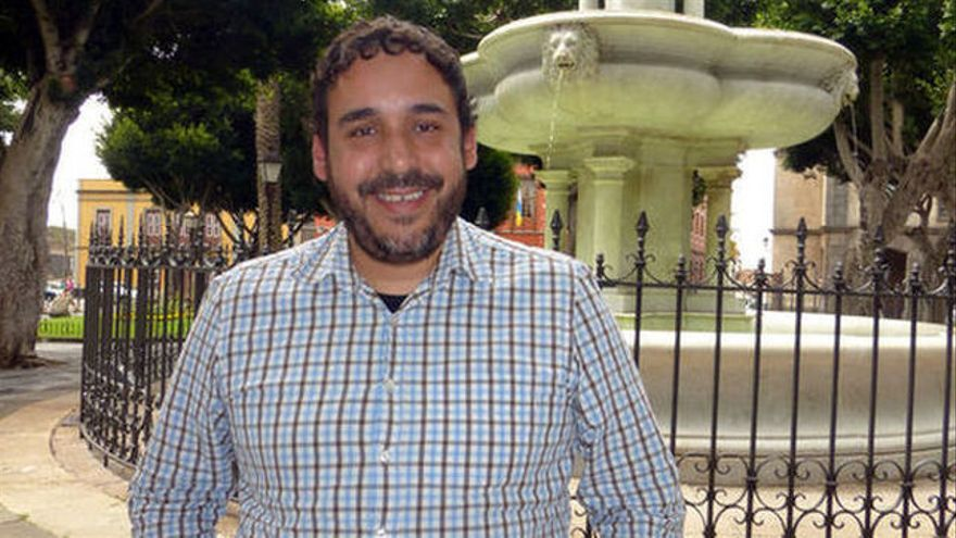 Rubens Ascanio, líder de Unidos Se Puede en La Laguna