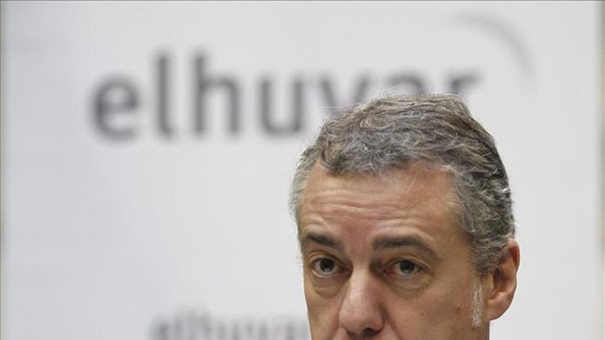 """Urkullu cree que el plan de EH Bildu pretende """"desmontar"""" las instituciones"""