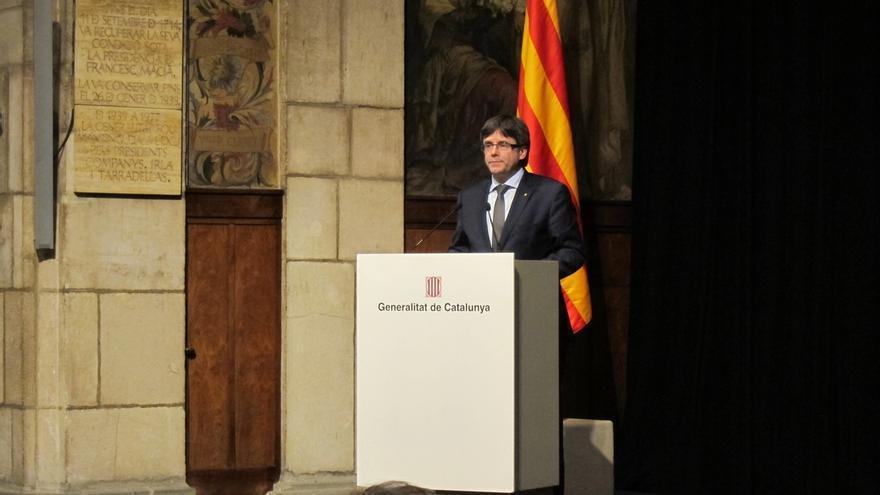 Puigdemont pide comparecer en el Senado el 24 de abril para dar una conferencia sobre el referéndum