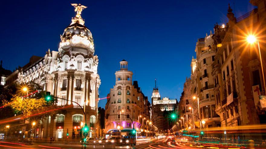 Madrid, una ciudad que nunca duerme.