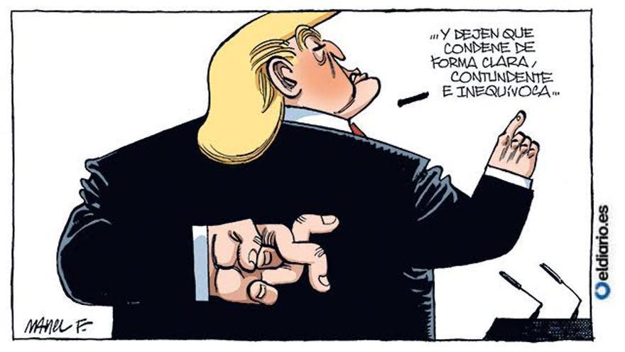 Trump condena