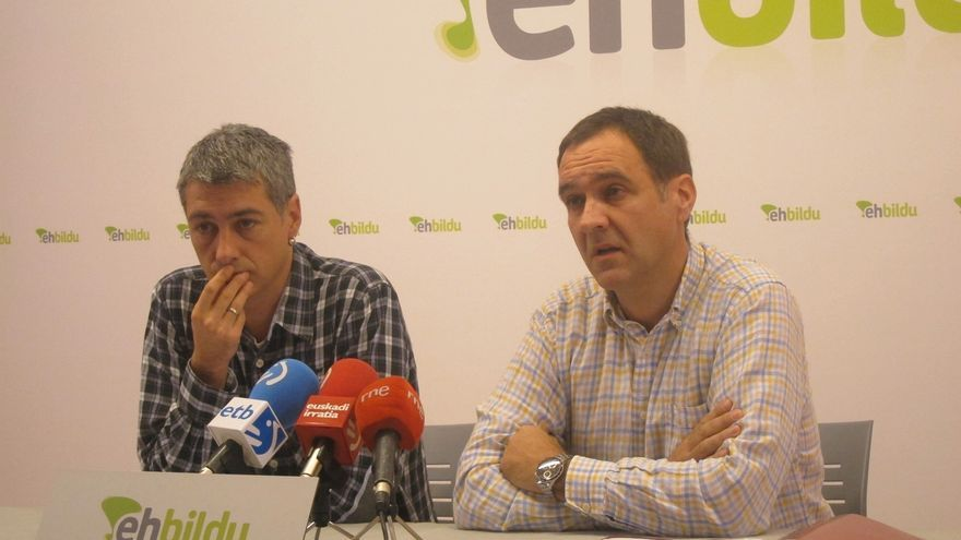 """EH Bildu cree que es el momento de que """"Euskal Herria inicie su camino"""" de forma """"unilateral"""""""