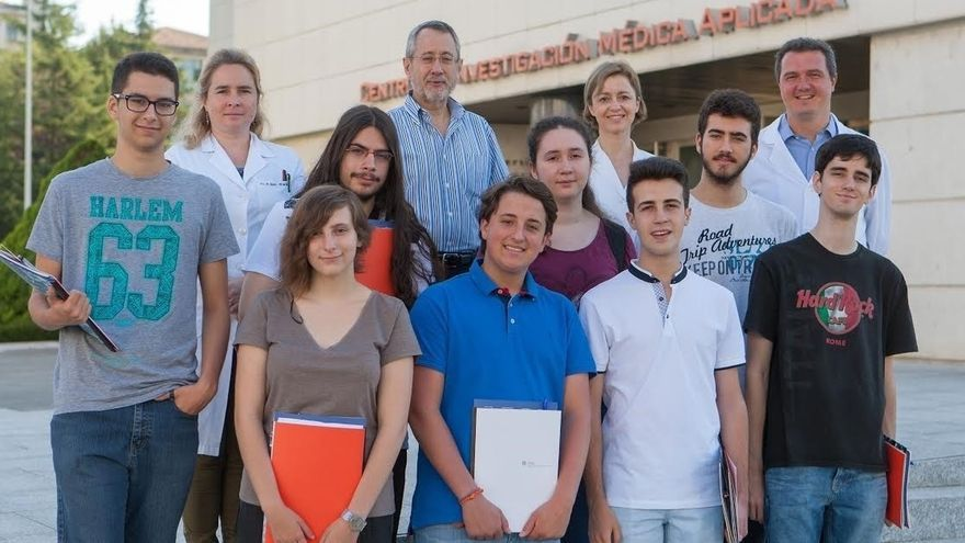 Los Olímpicos de Ciencias se preparan en la Universidad de Navarra