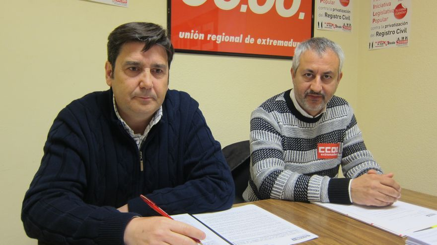 Barca, CCOO, registro civil