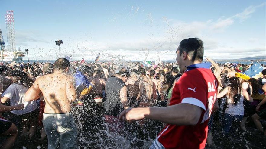 El Estrecho de Magallanes acoge a 2000 personas en el Carnaval de Invierno en Chile