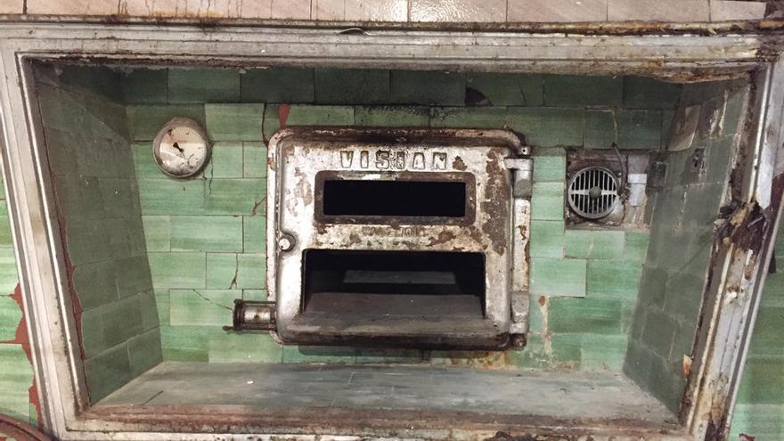 Frontal del antiguo horno