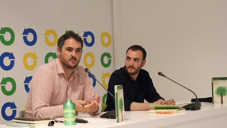 Sergi Pérez Serrano (derecha), nuevo gerente del IVAM