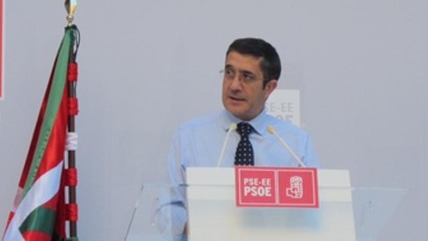 El Lehendakari, Patxi López.