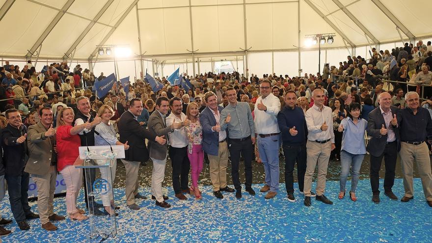 Acto del PP en Infecar, en Gran Canaria