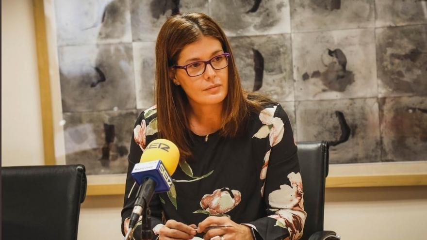 Imagen recurso de la alcaldesa de Móstoles, Noelia Posse