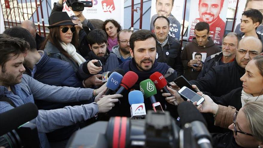 Garzón cree que IU ha roto un guión escrito sólo para cuatro partidos