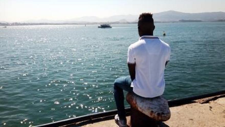 Samuel en la Bahía de Santander | Guillem Ruisánchez