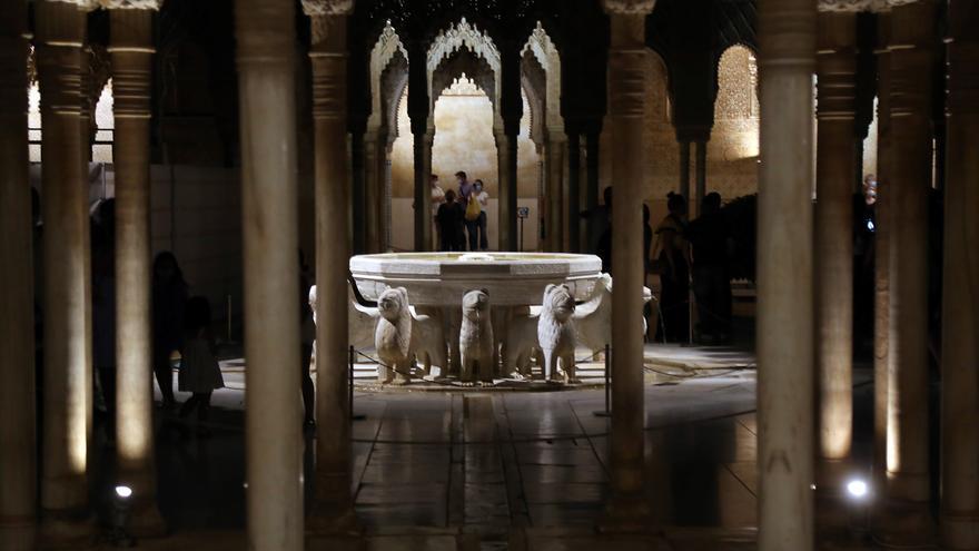 La restauración de la Sala de Reyes de la Alhambra opta a los premios ILUCIDARE