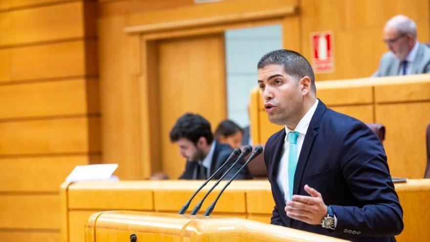 Pablo Rodríguez Cejas, senador por la isla de El Hierro.