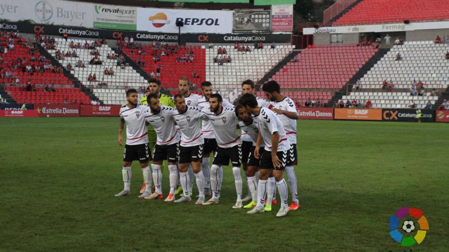 Once inicial de la primera jornada de la temporada 2015/2016. FOTO: albacetebalompie.es